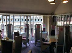 Corner view of Room de Luxe, Willow Tearooms - Charles Rennie Mackintosh
