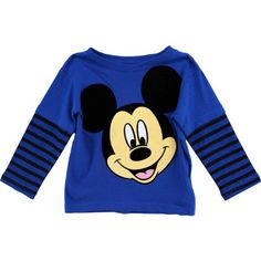 Disney Little Boys' Mickey Mouse Stripe Long Sleeve Tee, Blue, 3T Disney http://www.amazon.com/dp/B00FSFYLNE/ref=cm_sw_r_pi_dp_9ZY.tb1Z53KE8