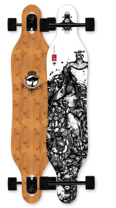Arbor Axis Bamboo Complete Longboard Skateboard $179.95 at Action Board Sports absboards.com