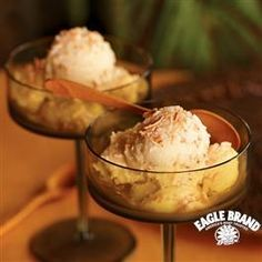 Pineapple Coconut Ice Cream Dessert from Eagle Brand®