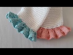 Knitting Videos, Crochet Videos, Sweater Knitting Patterns, Baby Cardigan, Knitting For Kids, Drops Design, Baby Sewing, Doll Clothes, Cross Stitch