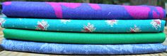 """Quilting Fabrics - Vintage Fabric Fat Quarter Sampler """"Adelia"""" by CurlicueCreations on Etsy"""