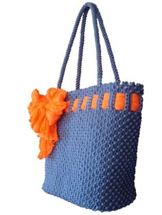 Macrame  Bag by BagsMagicKnots on Etsy, $124.26