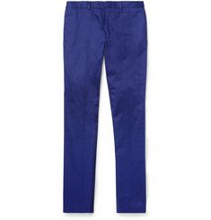 PS by Paul SmithSlim-Fit Cotton-Twill Trousers  www.thestyledancer.com