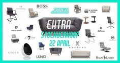 Extra Stockverkoop! Design meubilair & Merkkledij -- Kampenhout -- 22/04