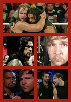 The Shield: Dean Ambrose and Roman Reigns