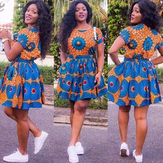There are so many things to love in Ankara styles! From the print to the cut and trends, fresh blooms with a modern-inspired take on the go-to print. The print…