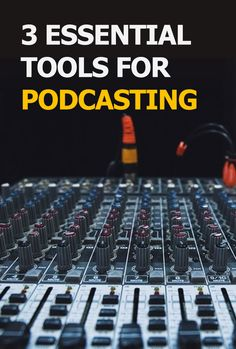 Do you want to start a podcast, but have no idea what equipment to buy? Here are 3 tips on how to start on the right foot with a low budget: