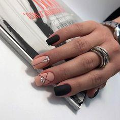 """and hottest matte nail art designs ideas 2019 27 """" Shellac Nails, Acrylic Nails, Matte Nail Art, Nail Designer, Stylish Nails, Fabulous Nails, Christmas Nails, Swag Nails, Nails Inspiration"""