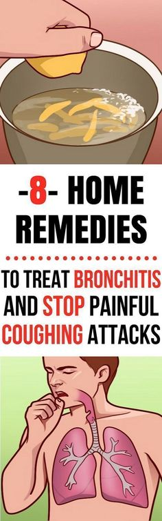 Best Home Remedies For Treating Painful Coughing and Bronchitis #naturalremediesforheadaches #HomeRemedyForCramps