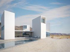 4 corners house... amazing architecture