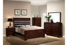 [ Affordable Queen Size Bedroom Sets Furniture Stores Remodelling ] - Best Free Home Design Idea & Inspiration King Bedroom Sets, Queen Bedroom, Queen Headboard, Bedroom Furniture Sets, Master Bedroom, Bedroom Ideas, Furniture Stores, Headboard Cover, Decoration