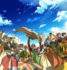Hetalia Flags. United Nations
