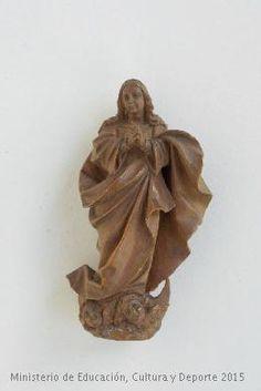 Escultura en madera, Inmaculada Concepción. CE01524