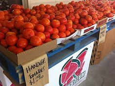 Hanover tomatoes, the BEST!!!