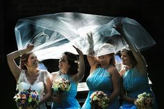 Bridesmaids are never going to upstage the bride. | Franck Boutonnet Photography | Paris, France.
