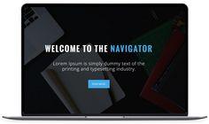 Navigator - Beautiful Free One Page HTML5 Template - Themefisher