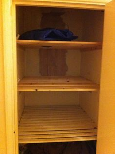 airing cupboard shelving making the most of small spaces city rh pinterest com cupboard with shelves ikea cupboard with shelves above
