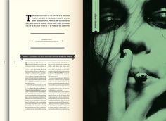 This Is HArdcore . Mag . by Daniela Raskovsky, via Behance