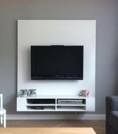 Do It Yourself Homemade Floating Cabinet Entertainment Center Dream Home Vision Board Pinterest Cabinets And