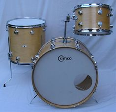 Lovely Camco drums - the pregenitor to DW.