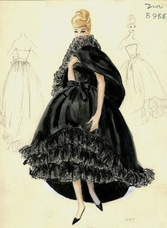Dior Illustration 1959