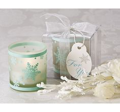 Winter Lights Snowflake Tea Light Candle Holder (Pack of 4) available at TheWeddingOutlet.com