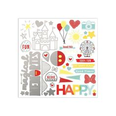 Happiest Place - CTMH Promotion til August 31/20 (while supplies last!) 100 Fun, Alphabet Stamps, Close To My Heart, My Happy Place, Album Covers, Your Cards, Scrapbook Pages, Are You Happy, Vibrant Colors