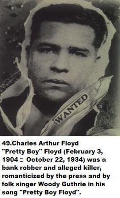 More Bugs Moran Bugsy Siegel Set 5 Gangster Wanted Posters Pretty Boy Floyd