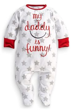 Buy Dad Slogan Sleepsuit (0-12mths) from the Next UK online shop