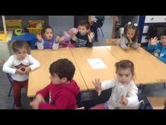 Contar hacia atrás del 10 al 0. Alumnos de infantil 3 años - YouTube