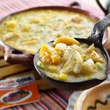 Cold weather meet your match with our Ecuadorian Fish Soup! Try the recipe today!