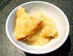 Easy Lemon Self Saucing Pudding
