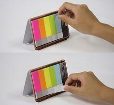 Color TV Memo Pad