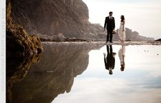 Ian Martin Wedding Photojournalism...A wedding at Pfeiffer Beach in Big Sur, California.