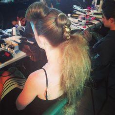 San Diego fashion week couture hair runway hair