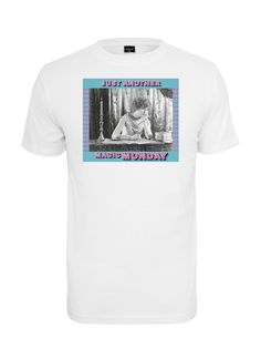 Magic Monday női póló, NŐI MINTÁS PÓLÓ, Mister Tee, MT1138 white, 5.998 Ft  www.trendcity.hu Mens Tops, T Shirt, Fashion, Tee, Moda, La Mode, Fasion, Fashion Models, Tee Shirt