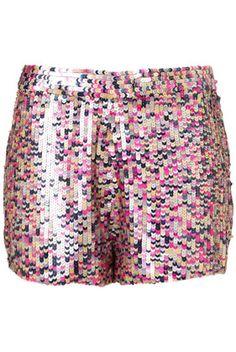$80 sequin shorts!  no.