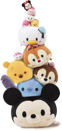 Disney Tsum Tsum How cute are these funny things! I bought a little eeyore one for Weston cuz its perfect and mini!!!