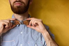 Adjusting Bowtie by Milles Studio for Stocksy United