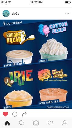 New June Drinks of the month at Dutch Bros