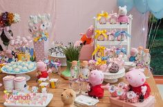 Festa Peppa Pig, Itens Personalizados, Decoração, Tudo para sua Festa!