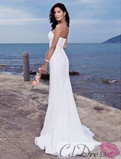 beach wedding dresses - 4