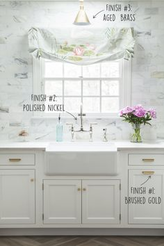 The Prettiest Kitchen Faucet You Ever Did See Cooking Spaces - Brushed gold kitchen faucet