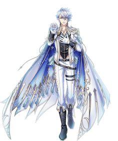 Fantasy Monster, Anime Fantasy, Anime People, Anime Guys, Fallen Angel Art, Anime Prince, Blue Anime, Mermaid Art, Fantasy Character Design