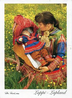 Lapp Mother and Child
