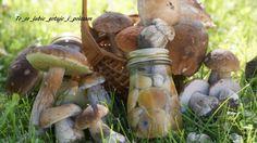 Grzybki marynowane – To co lubie – gotuje i polecam Stuffed Mushrooms, Vegetables, Dom, Vegetable Recipes, Stuff Mushrooms