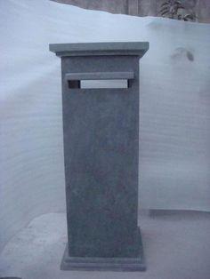 Chinese Blue Limestone Letter Box - China letter box