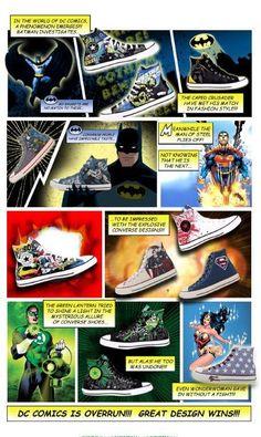 Converse DC Comic