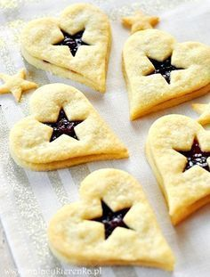 Cookie Recipes, Dessert Recipes, Polish Recipes, Dessert For Dinner, Cakes And More, Sugar Cookies, Christmas Cookies, Holiday Recipes, Food And Drink